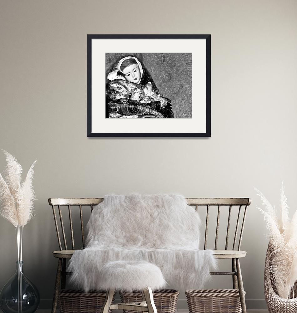 """""""Gift of Fine Art for Mom B&W Photograph""""  (2010) by PhotographsByCarolFAustin"""
