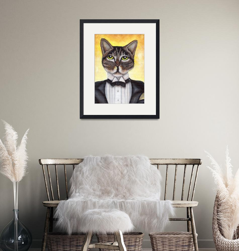 """Jay Gatsby Cat""  (2014) by taraflyphotos"