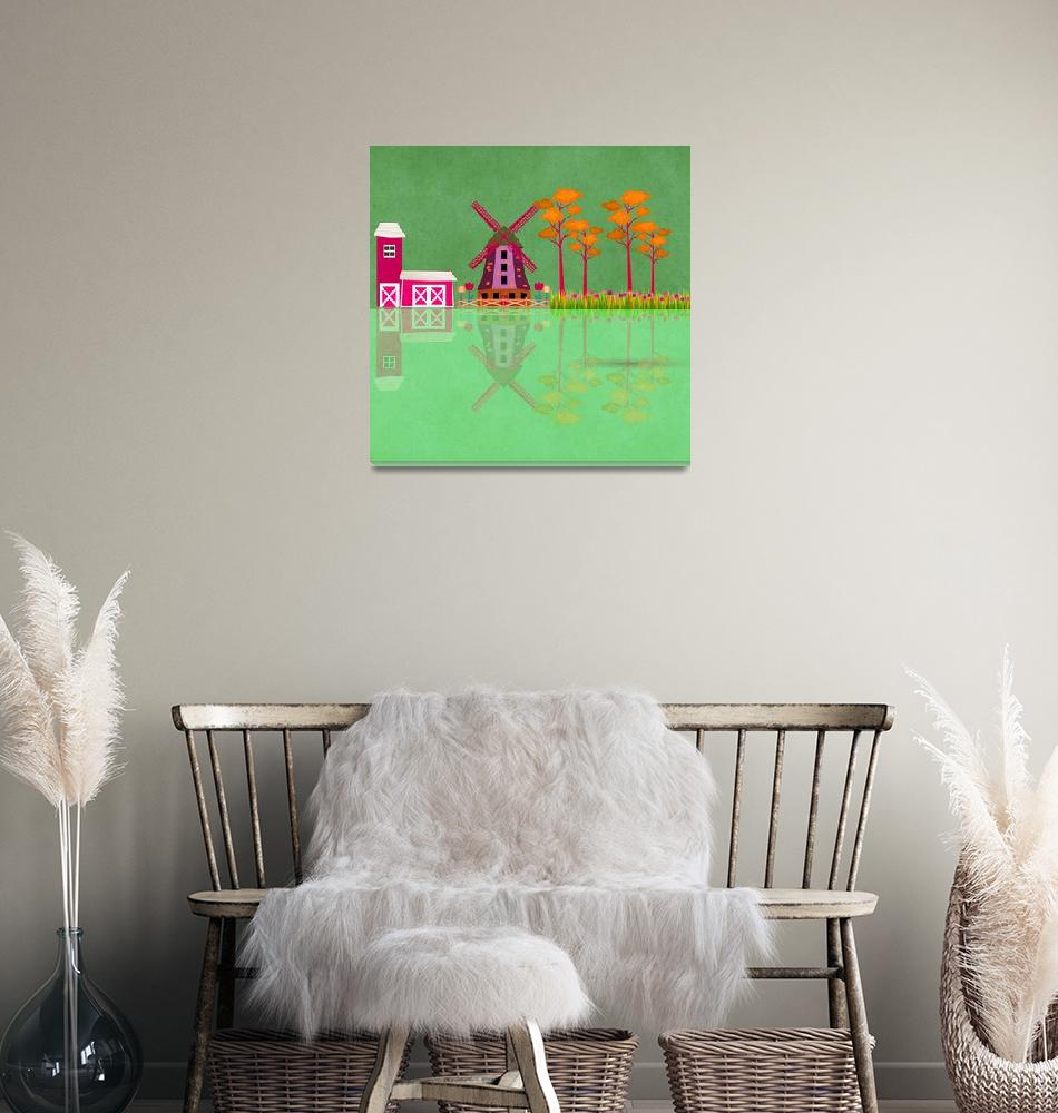 """Windmill""  by Design4uStudio"