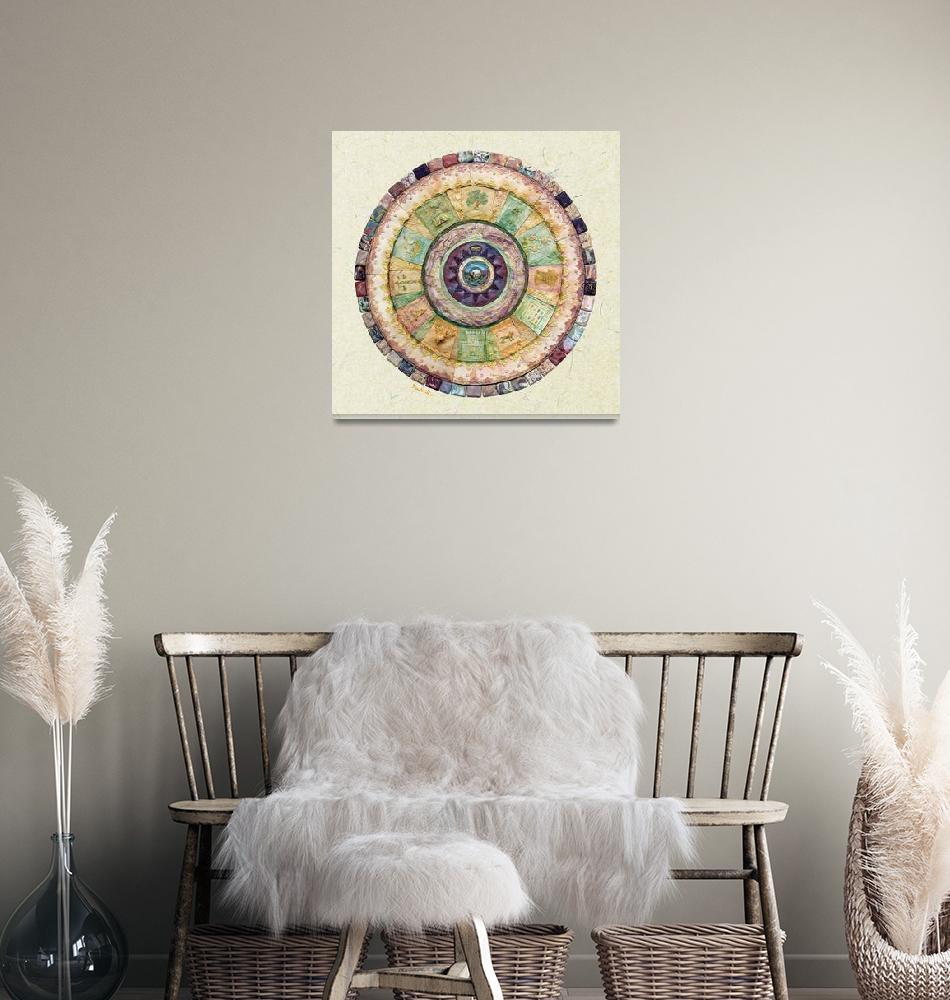 """Twelve Tribes - Mosaic""  by MuchnikArts"