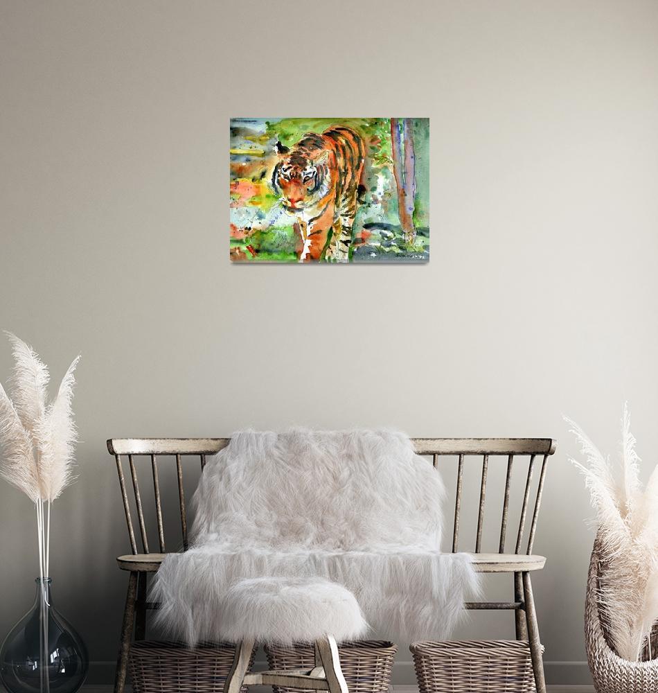 """Tiger Mountain""  (2007) by schulmanart"