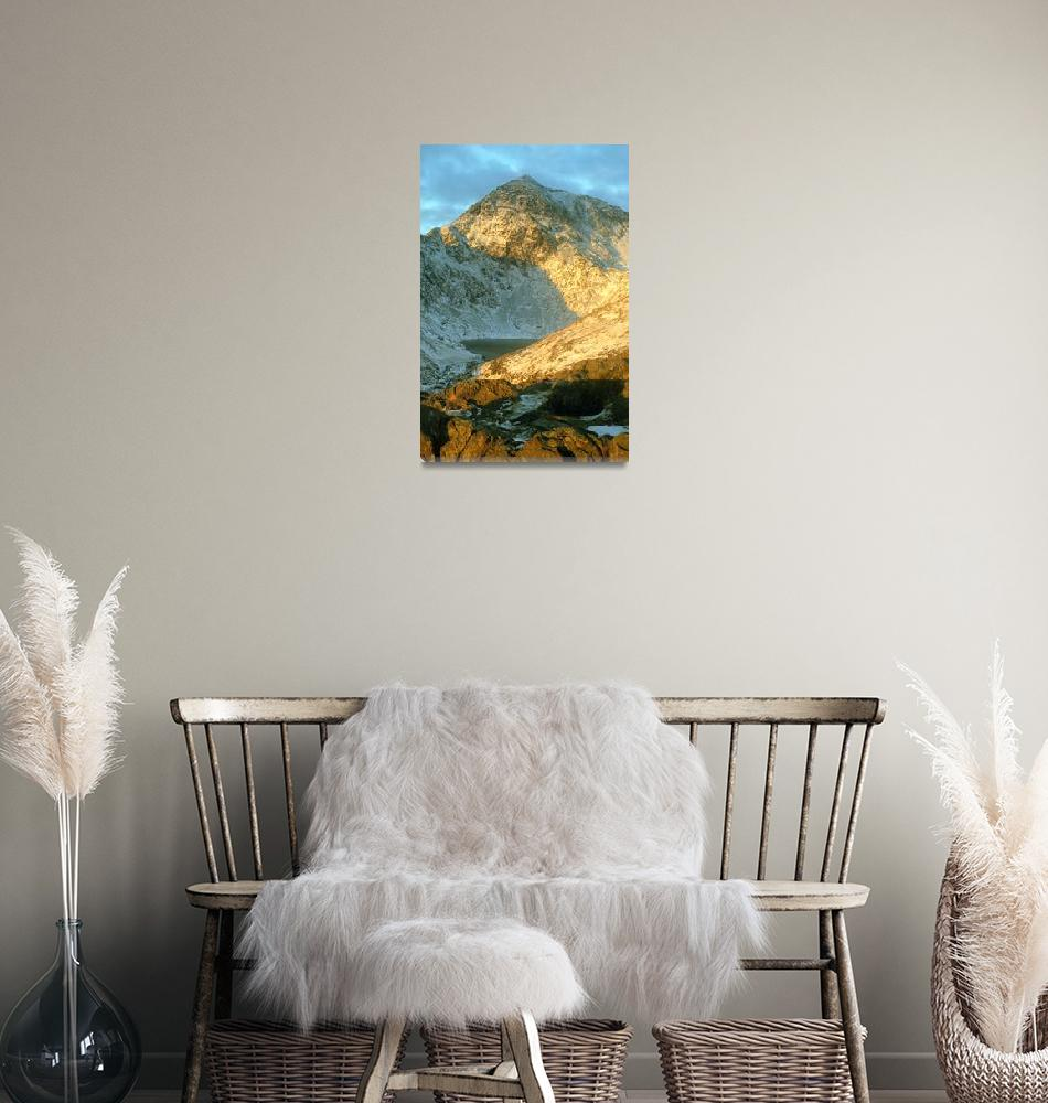 """""""snowdon from miners track""""  (2002) by eyeontheworld"""