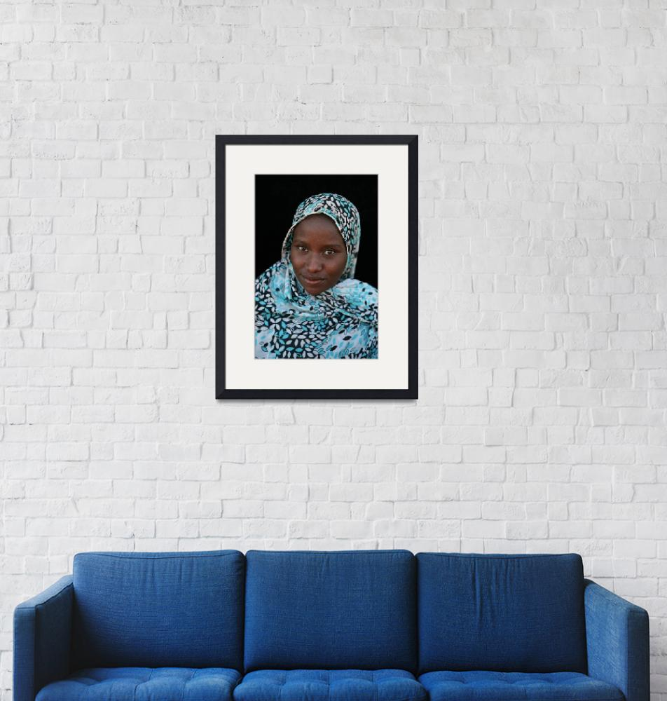 """Mauritanian Woman 3""  (2009) by AndreaMoorePhotography"