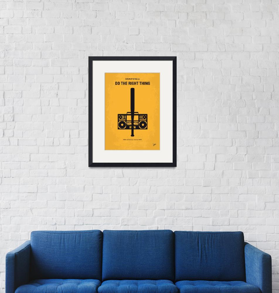 """""""No179 My Do the right thing minimal movie poster""""  by Chungkong"""