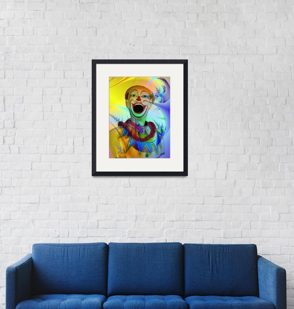 """""""Carnival clown""""  (2008) by nomad"""