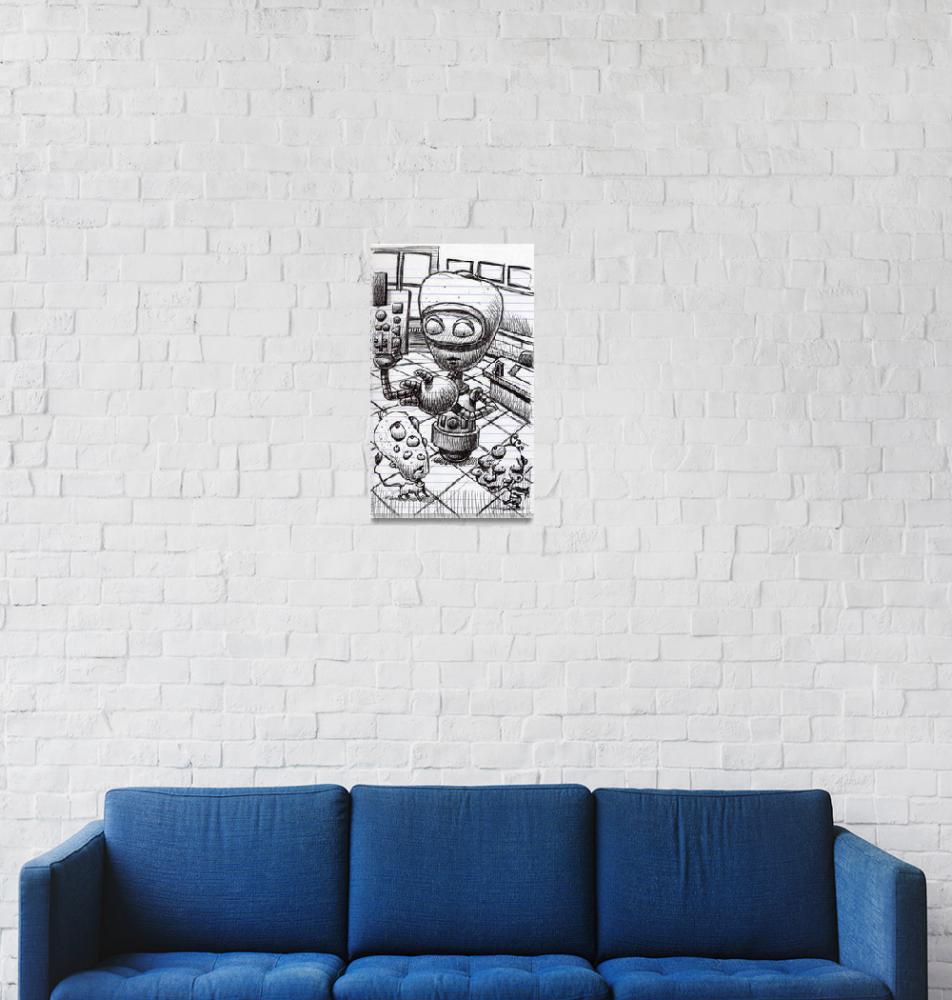 """Robot Teacher""  by MikeCressy"