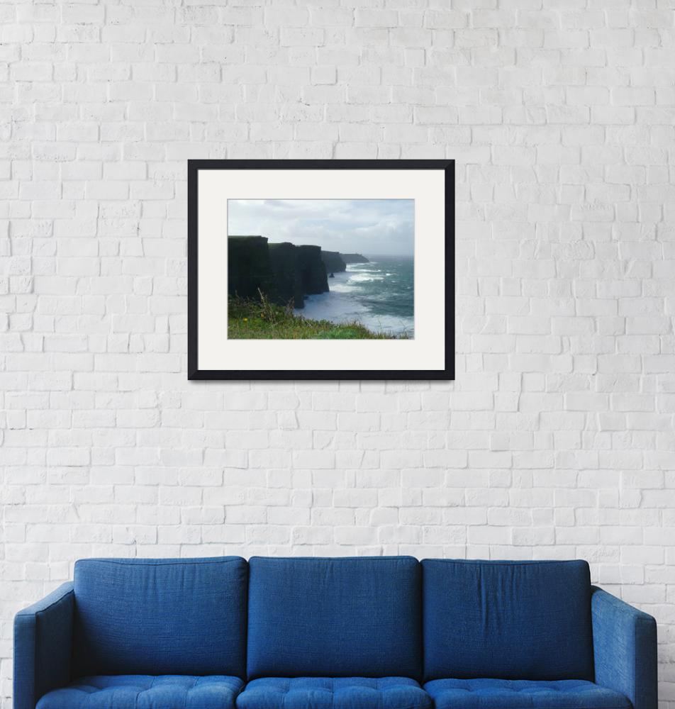 """""""Cliffs of Moher""""  (2007) by Sawrah"""