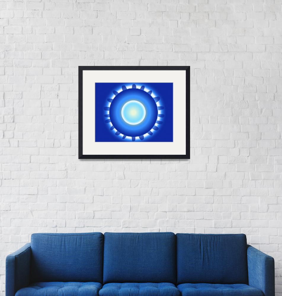 """""""Wheel blue for greater Good""""  (2011) by seratin"""