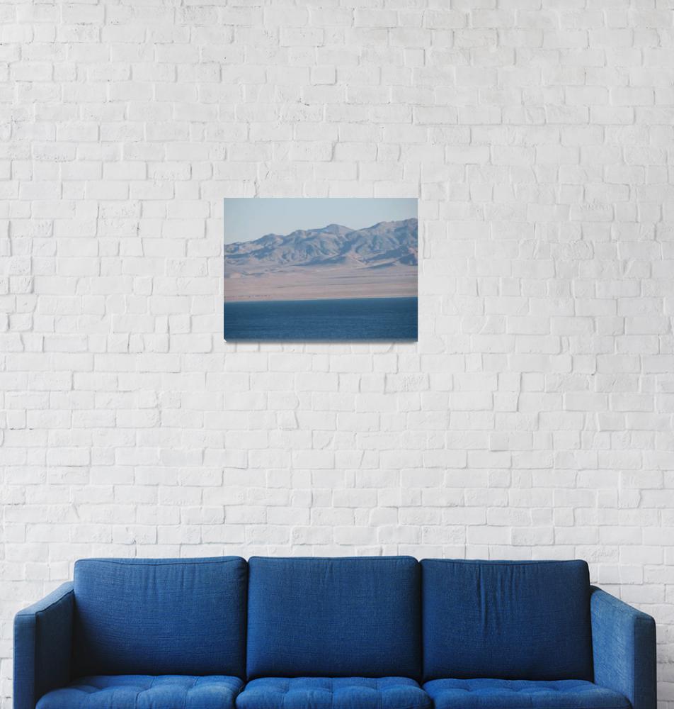 """""""Nevada Desert Lake""""  (2007) by shana"""