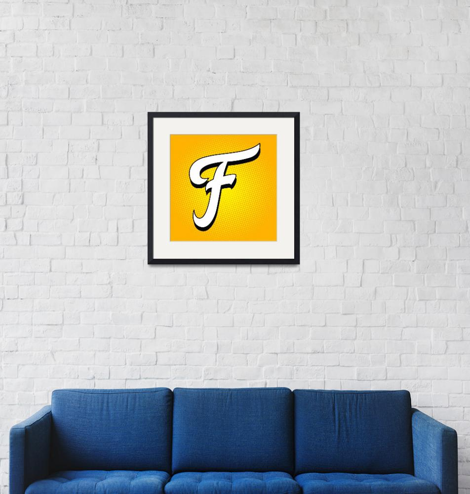 """F-Fritos""  by LetterPopArt"