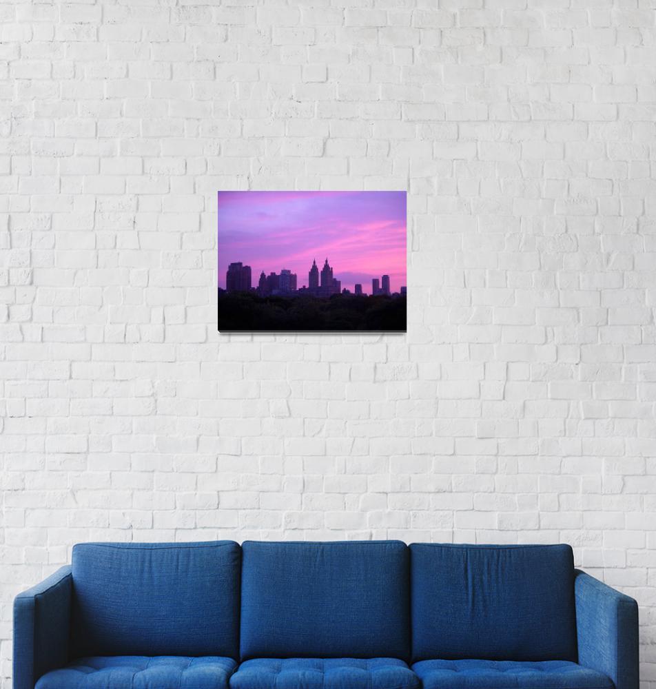 """""""Sunset over Central Park""""  by DJlpbb40"""