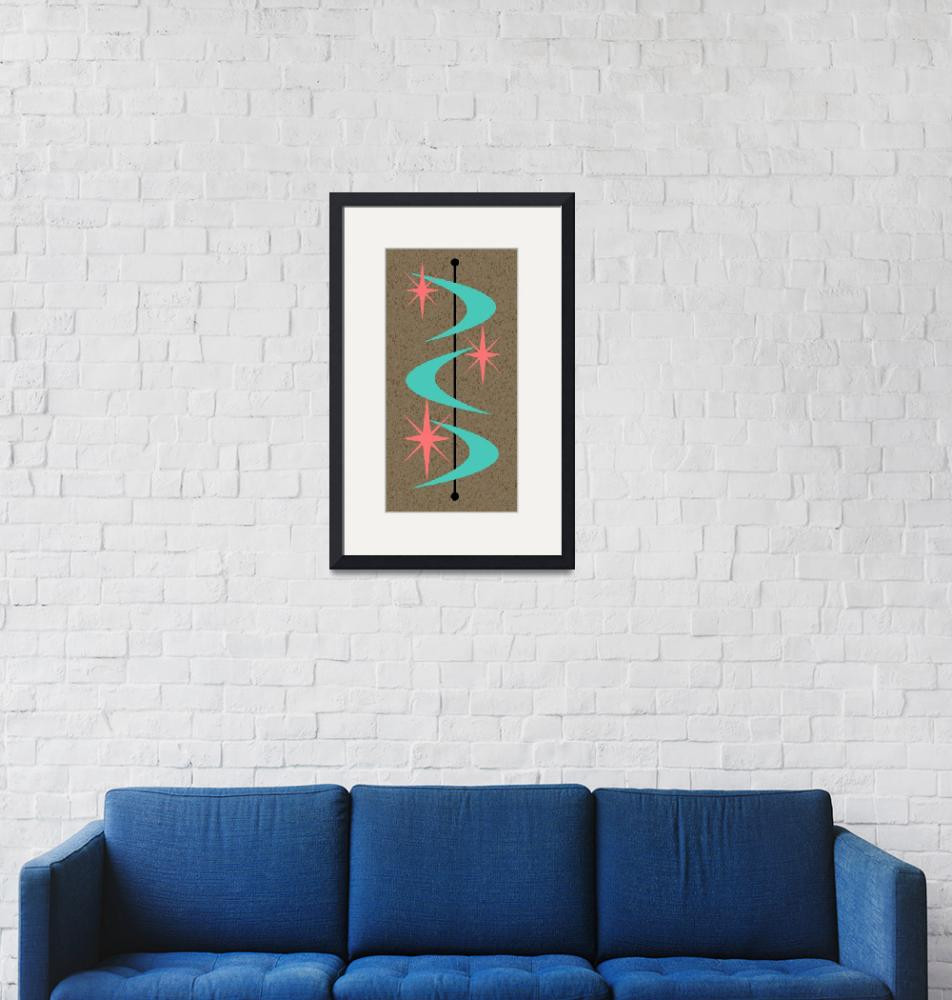 """Mid Century Modern Shapes 8""  by DMibus"