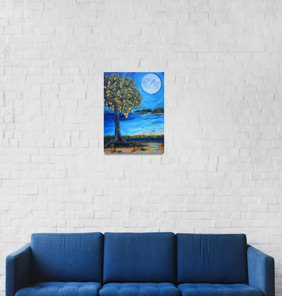 """The Mango Tree""  (2013) by artbypatti"