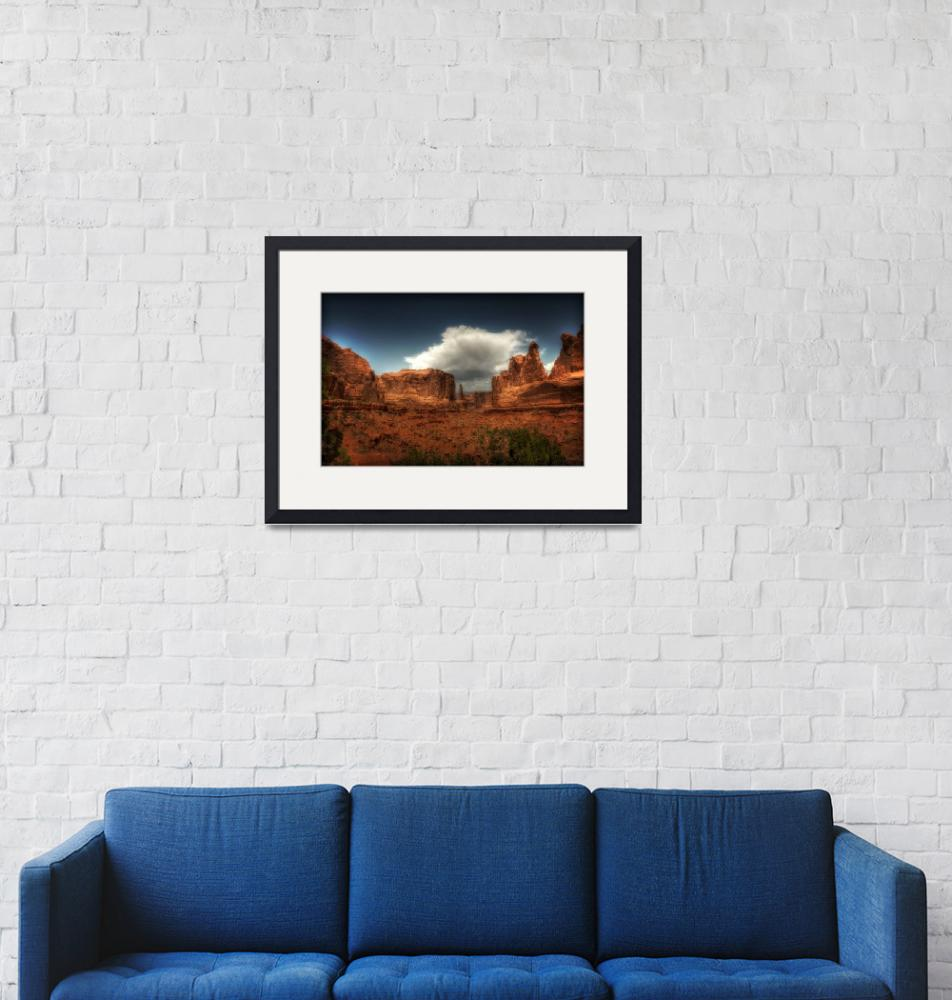 """""""ARCHES National Park""""  (2012) by westinimages"""