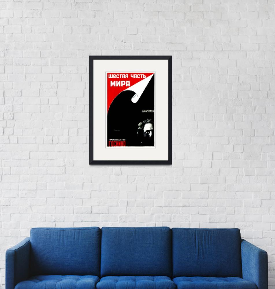 """Vintage USSR Russia Cold War Soviet Union Poster""  by palaciodebellasartes"