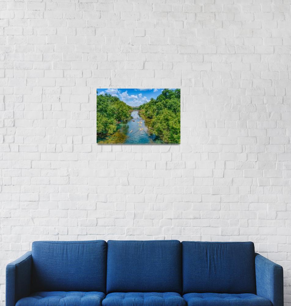 """Barton Springs""  (2013) by beecreekphotography"