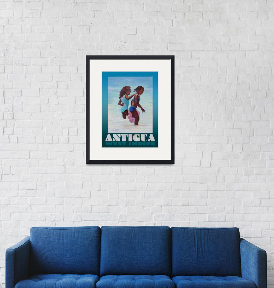 """Antigua Girls Poster""  (2008) by jpomeroy3"