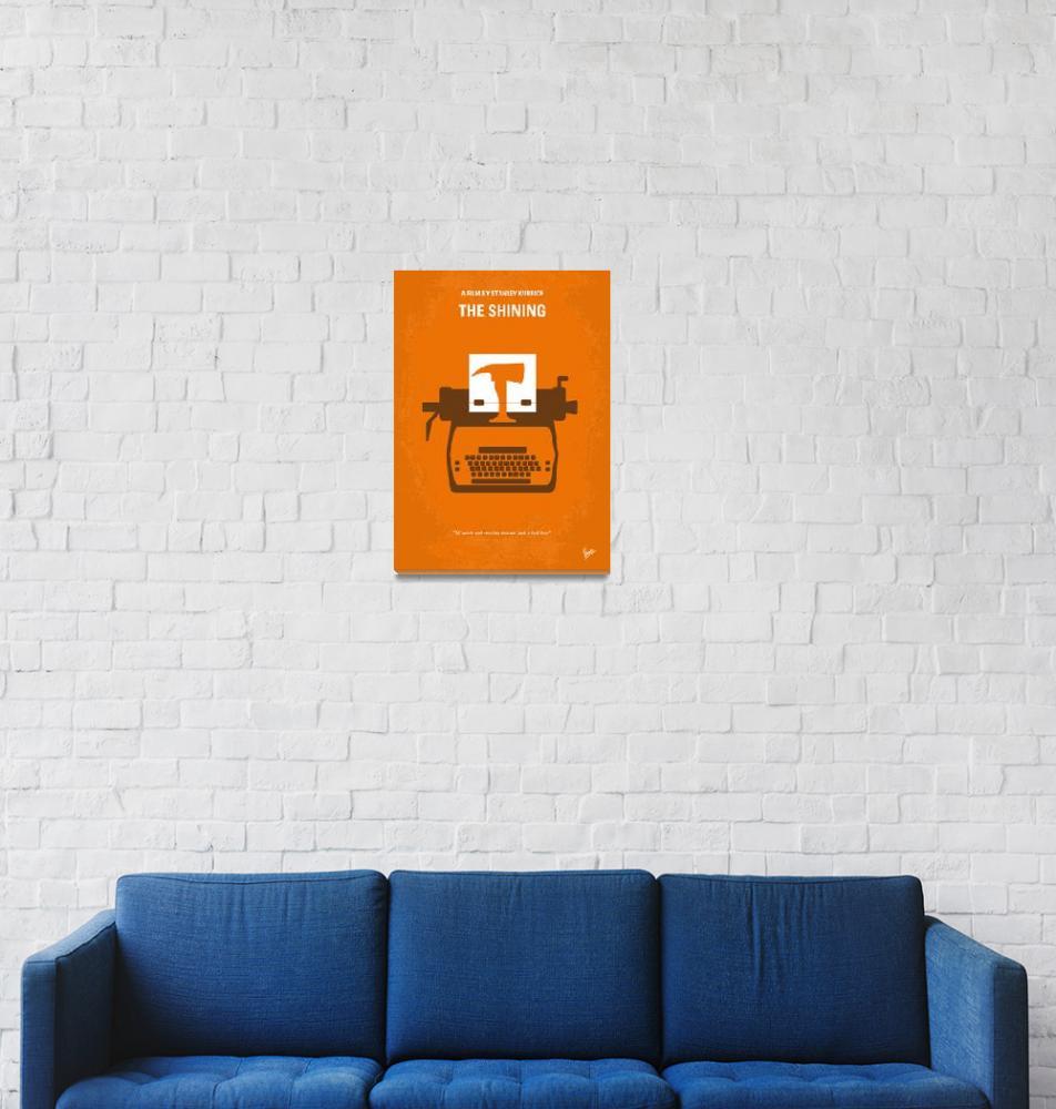 """""""No094 My The Shining minimal movie poster""""  by Chungkong"""