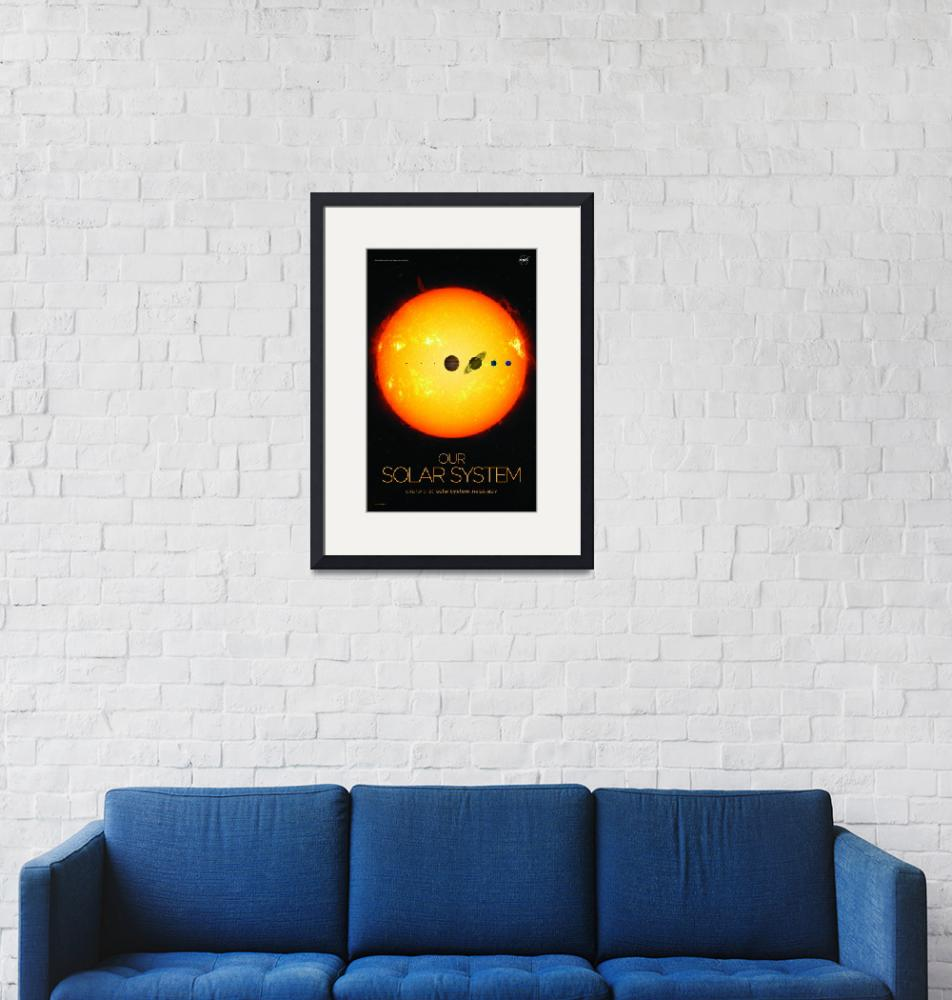 """""""Our solar system""""  by sobalvarro"""