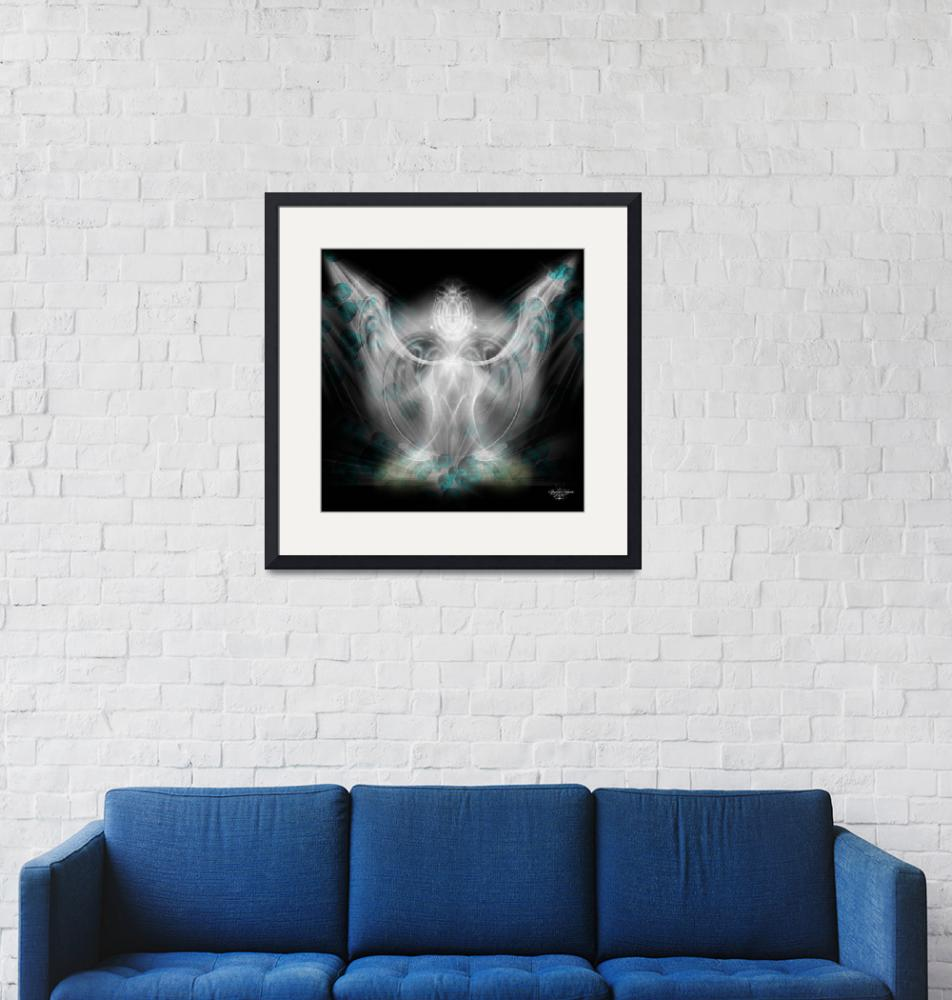"""""""Ethereal Angel""""  (2008) by Spyder13x085"""
