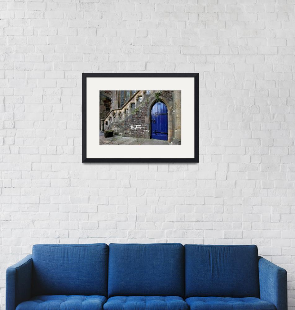 """""""Medieval Stairs""""  (2008) by Llanthony"""