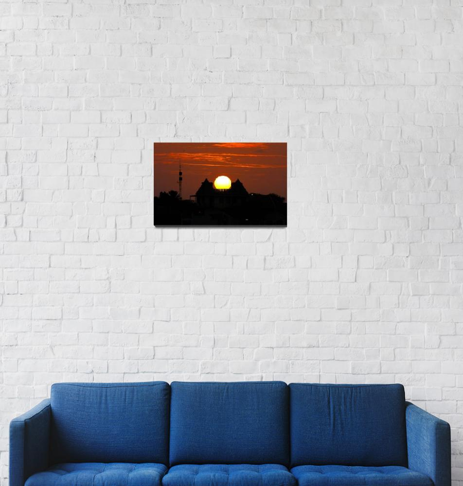 """""""Sunset on a House of Dreams""""  (2006) by JoaoPonces"""