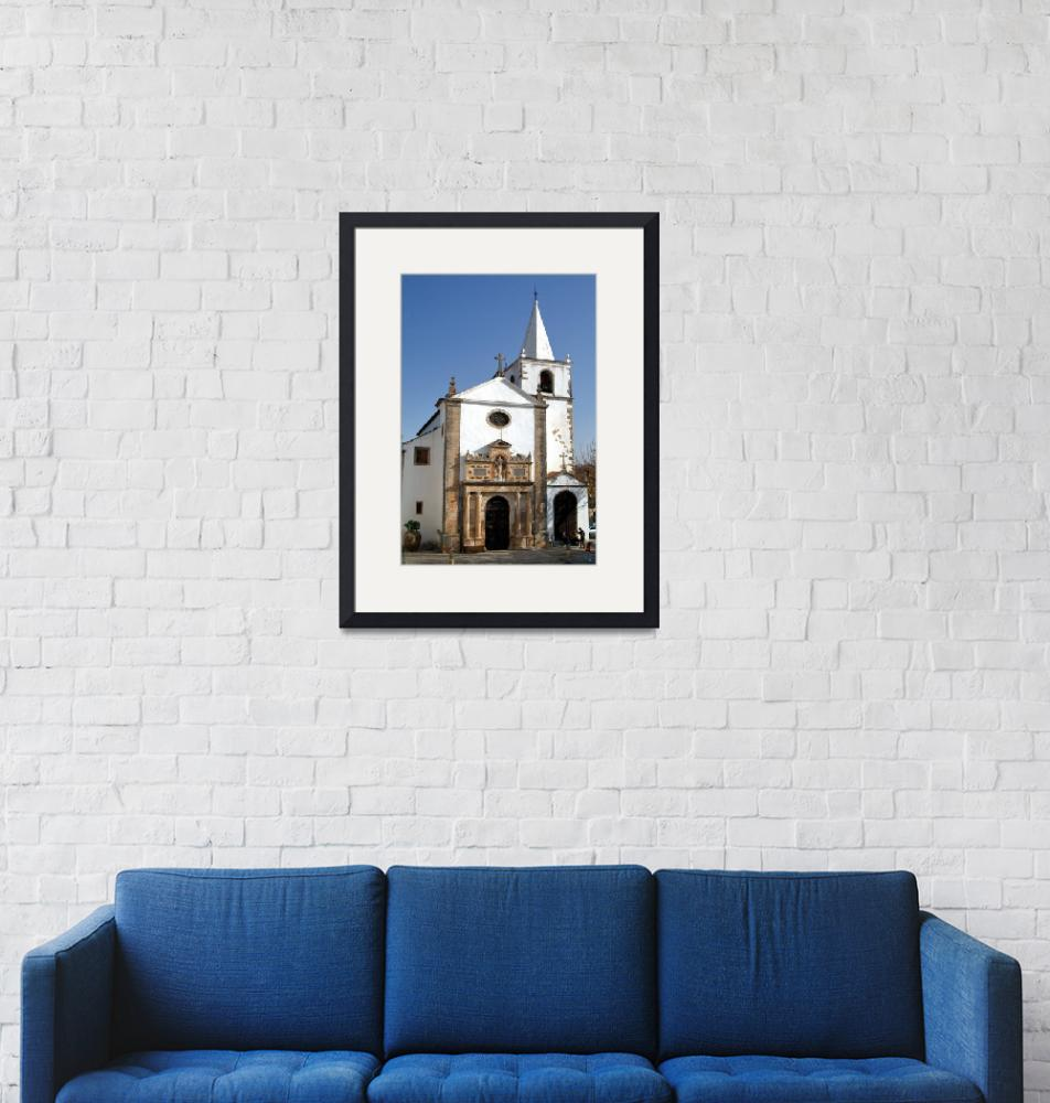 """""""Obidos Church 50 YearsAfter""""  (2007) by JoaoPonces"""