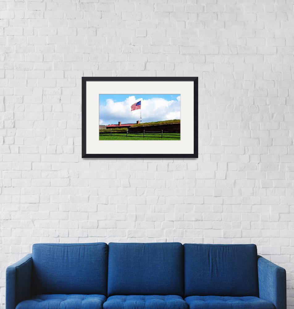 """Star Spangled Banner, Fort McHenry"" by Artsart"