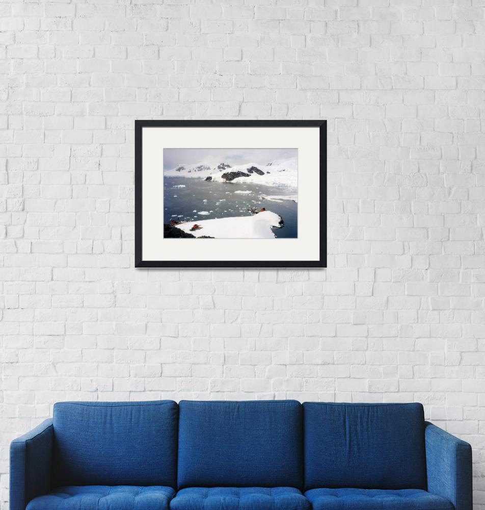 """""""Paradise Bay Antarctica""""  by AnnTuck"""