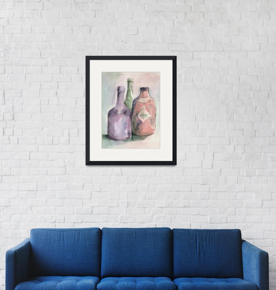 """Bottle Trio""  (2008) by tolunart"