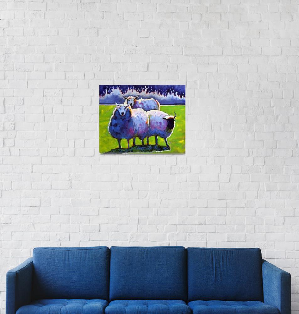 """""""Sheep""""  by AnnTuck"""