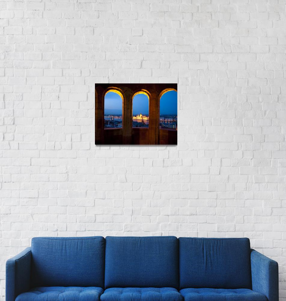 """""""View of Parliament""""  (2016) by raetucker"""