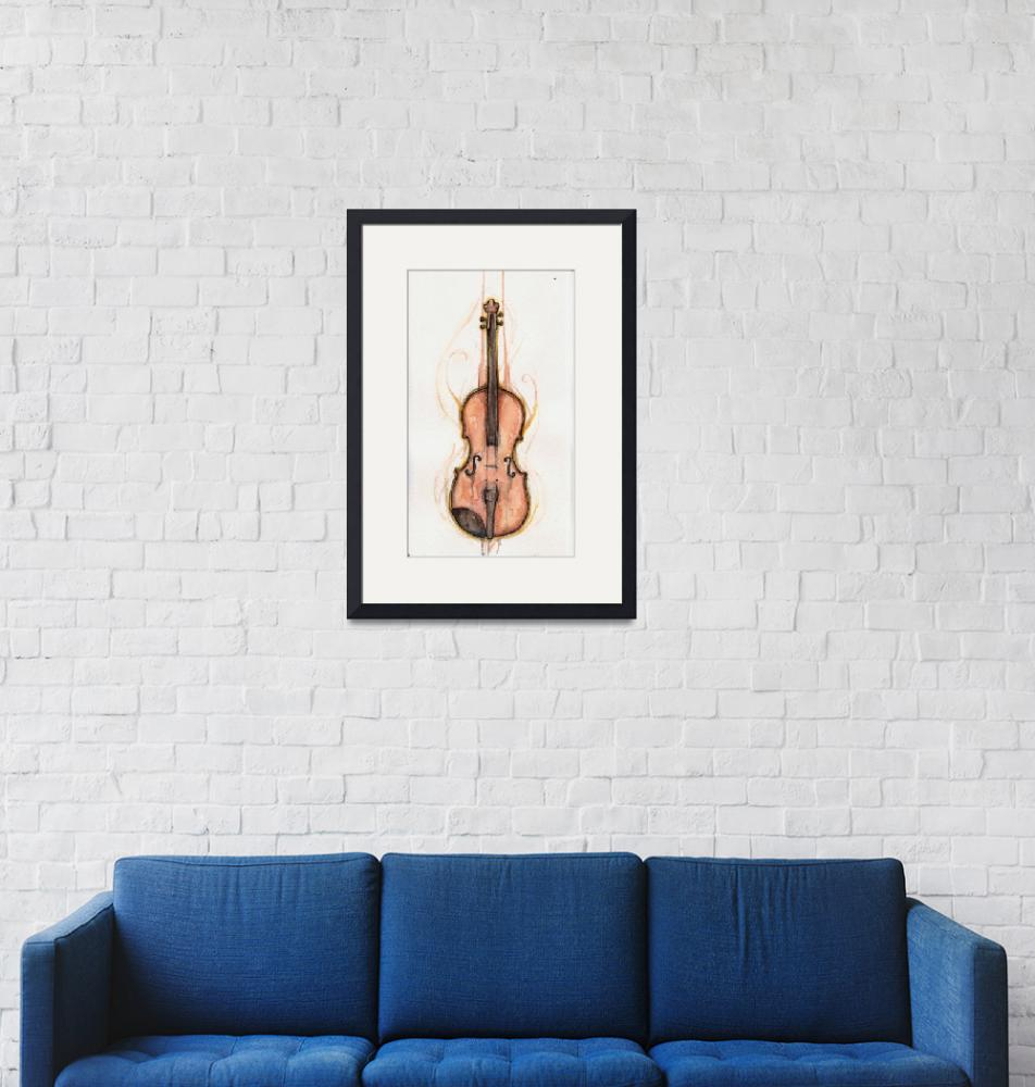 """Violin""  (2011) by aaronaylward"