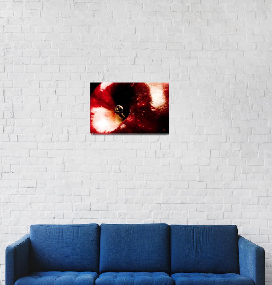 """LUST                 : Red Apple""  (2006) by SanjayNayar"
