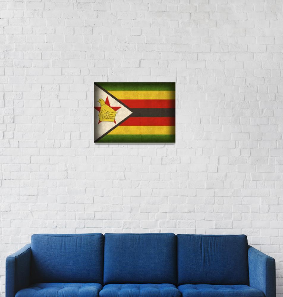 """Zimbabwe""  by artlicensing"