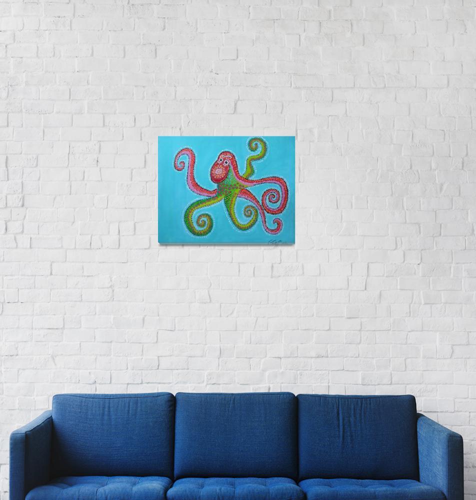 """Octopus""  (2010) by ClaudiaTuli"