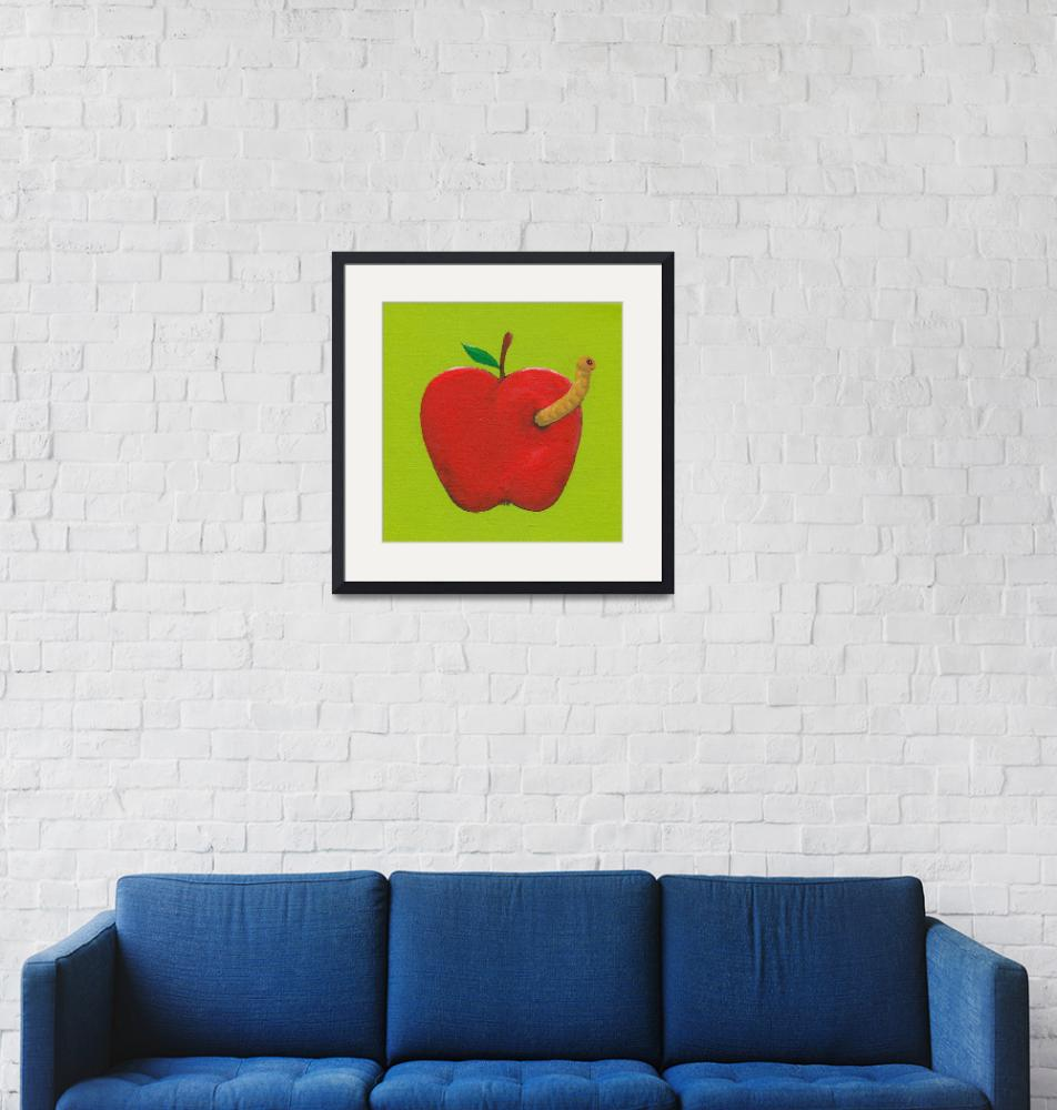 """""""A Is For Apple""""  (2010) by LibbyJohnston"""