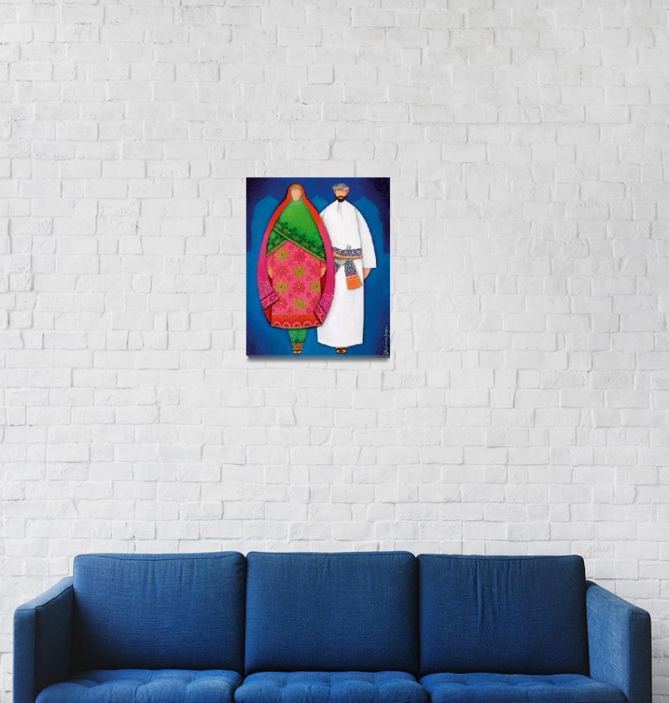"""Maryam & Majid""  (2003) by stephanieborg"