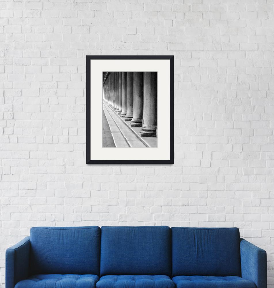 """""""A Row of Columns""""  (2005) by DonnaCorless"""