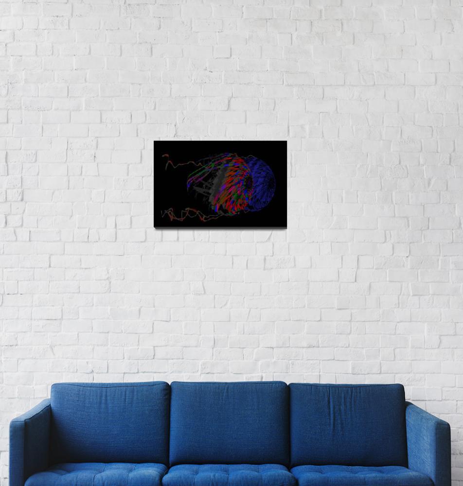 """"" Serious Fish "" Vector Artwork""  (2014) by cdocitylife"