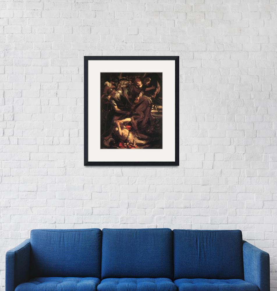 """Caravaggio The Conversion Of St Paul"" by oldies"