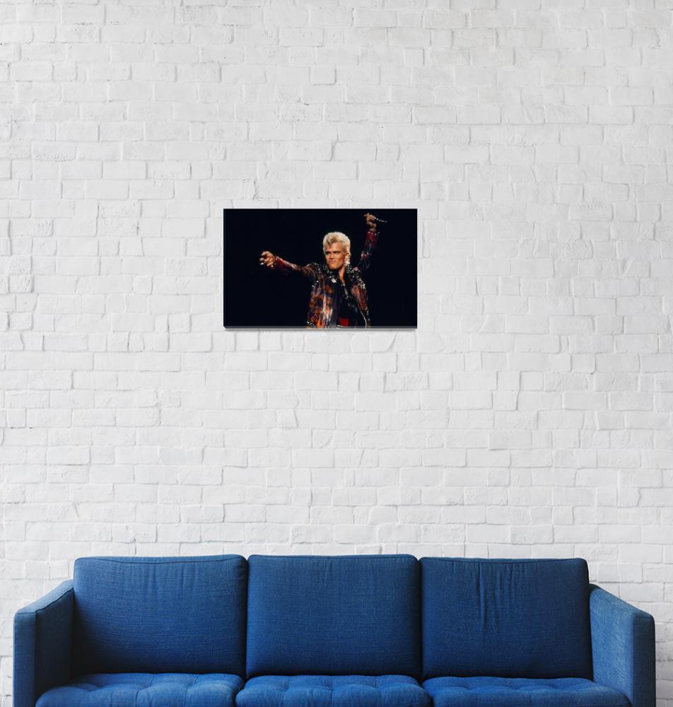 """Billy Idol""  by classicrockphotos"