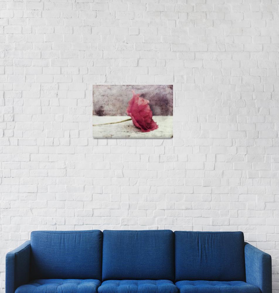 """decor poppy vertical""  (2013) by Piri"