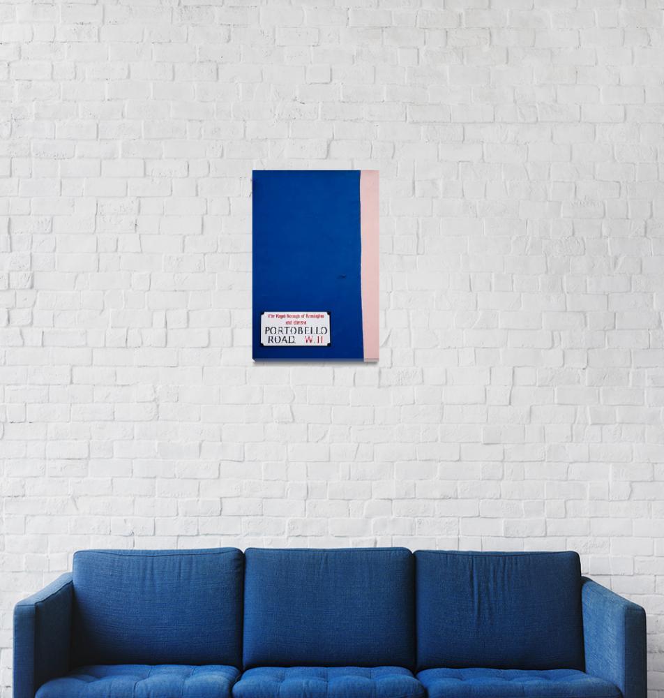 """""""Portobello Road Sign""""  (2008) by cpc"""