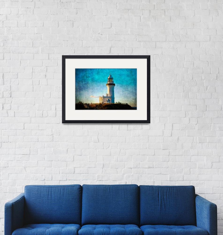"""Byron Lighthouse""  (2010) by StuartRow"