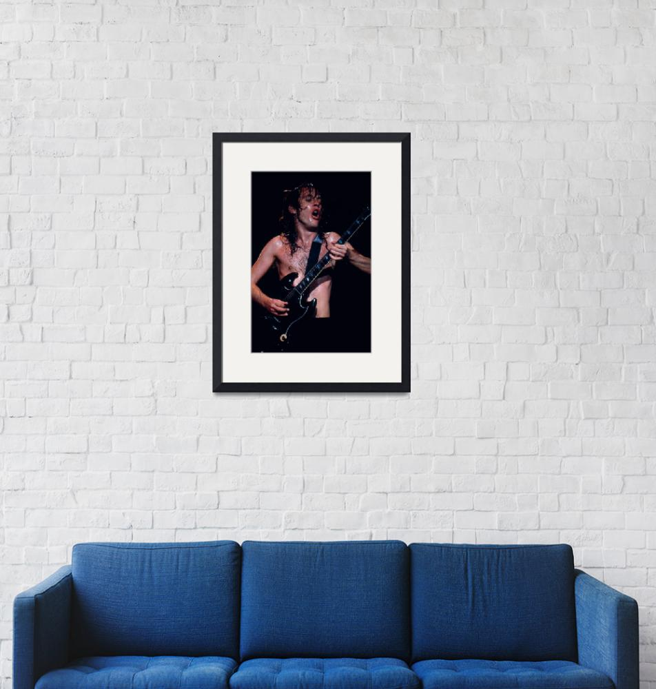 """""""Angus Young""""  by classicrockphotos"""