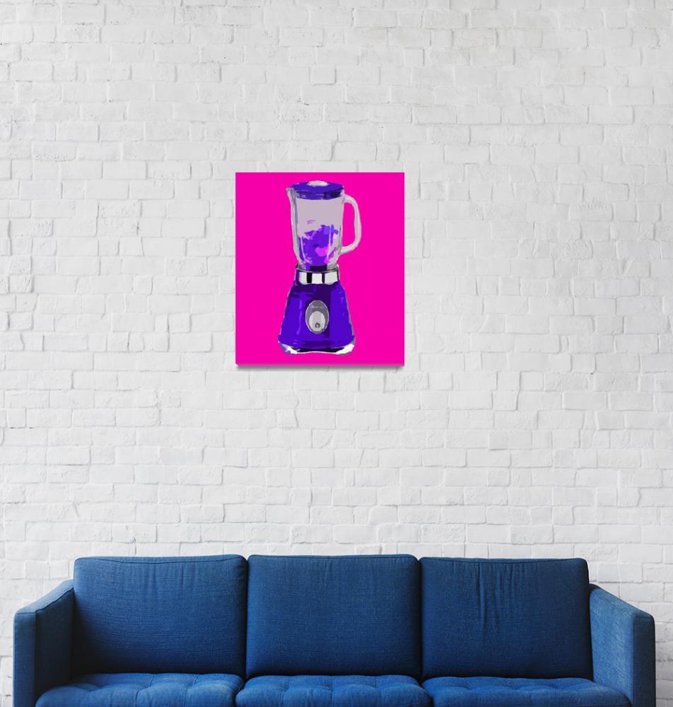 """Blender in Pink World""  (2010) by whitewallgallery"