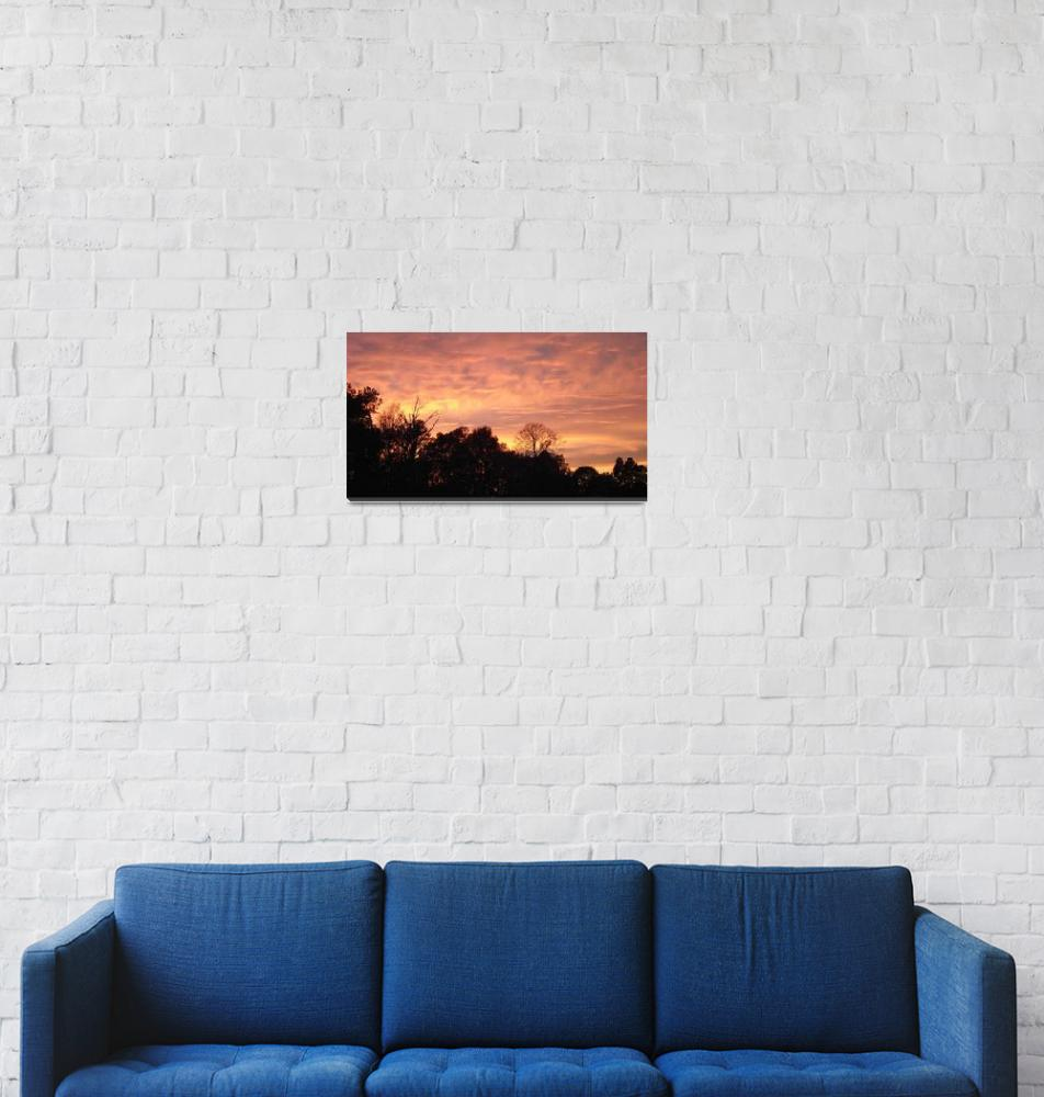 """North Carolina Sunset 3""  (2011) by eveningstorm"