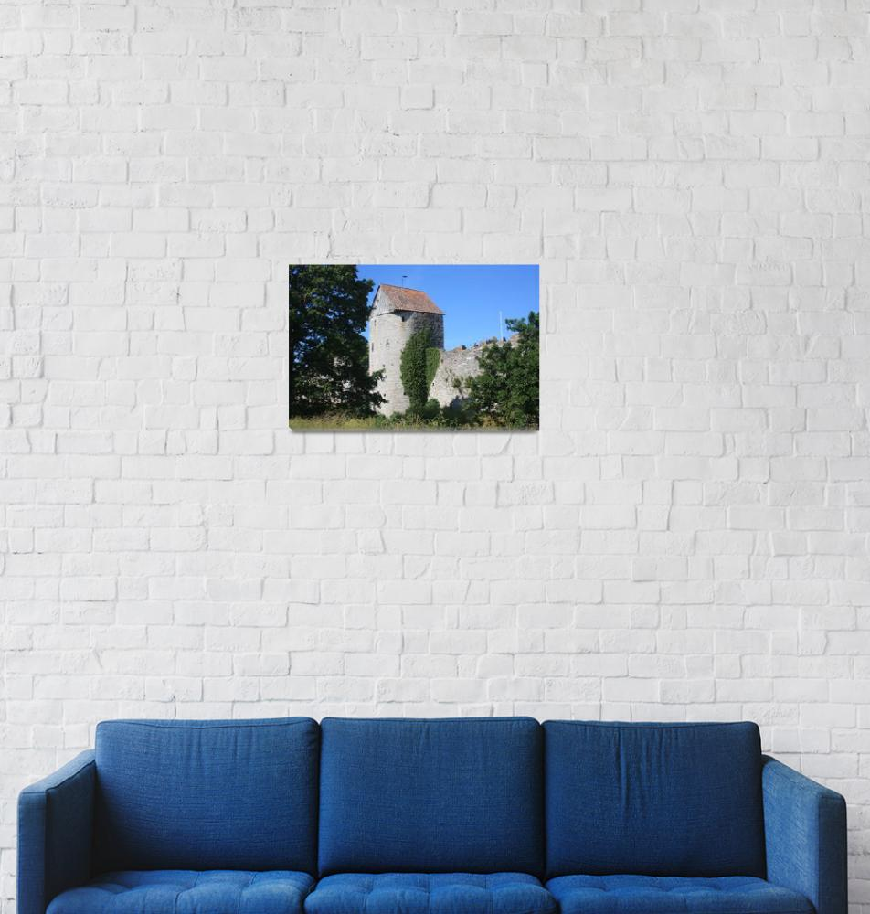 """""""Visby Mill Tower""""  (2009) by dunklebob"""