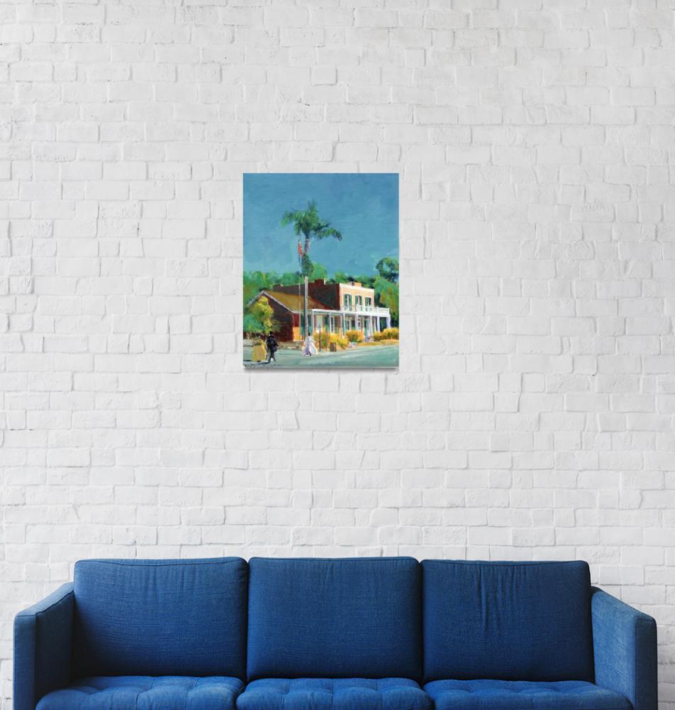 """Whaley House, Old Town San Diego by Riccoboni""  (2005) by RDRiccoboni"